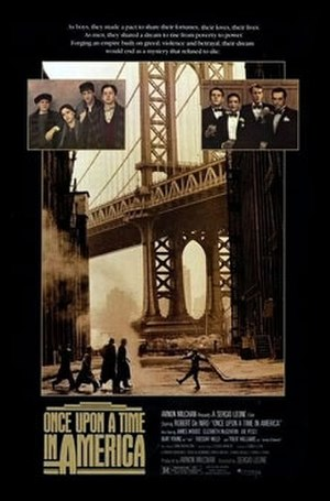 Once Upon a Time in America - Theatrical release poster by Tom Jung