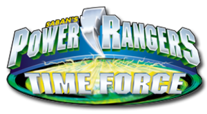 Power Rangers Time Force - Image: PR Time Force logo