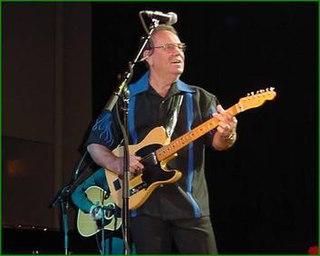 Paul Burlison American rockabilly guitarist