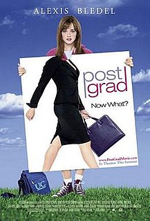 <i>Post Grad</i> 2009 American film directed by Vicky Jenson