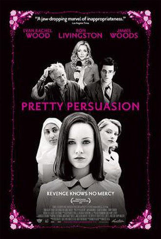 Pretty Persuasion - Theatrical release poster