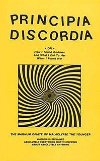 <i>Principia Discordia</i> Discordian religious text