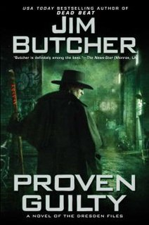 <i>Proven Guilty (The Dresden Files)</i> book by Jim Butcher