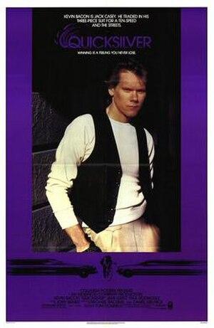 Quicksilver (film) - Image: Quicksilver (1986) poster