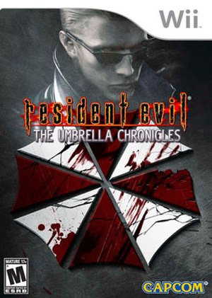 Resident Evil: The Umbrella Chronicles - North American cover art