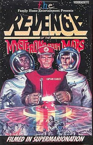 Revenge of the Mysterons from Mars - VHS Cover