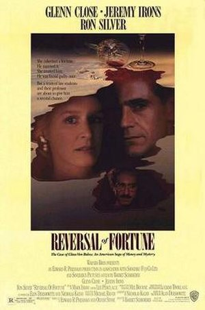 Reversal of Fortune - Theatrical release poster
