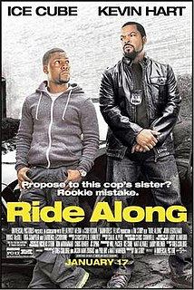 <i>Ride Along</i> (film) 2014 action comedy film by Tim Story