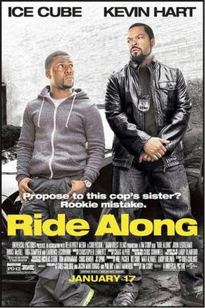 Ride Along (film) - Image: Ride Along poster