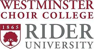 Westminster Choir College - Image: Rider Logo