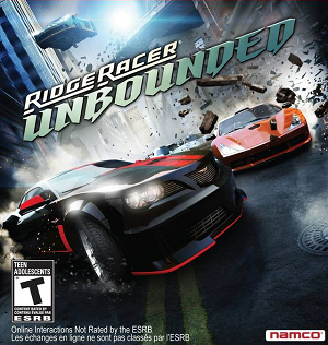 Ridge Racer Unbounded - Image: Ridge Racer Unbounded cover