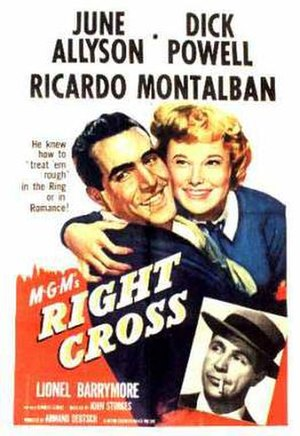 Right Cross - Theatrical release poster
