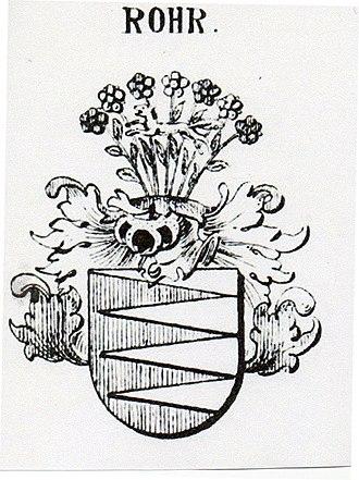 Von Rohr - Image: Rohr COA