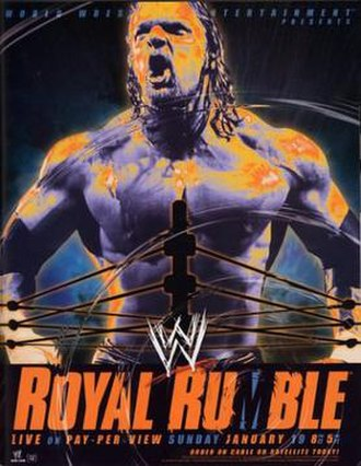 Royal Rumble (2003) - Promotional poster showing Triple H