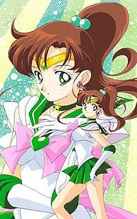 Sailor Jupiter character from Sailor Moon