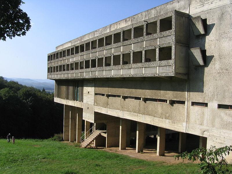 File sainte marie de la tourette wikipedia - Arquitecto le corbusier ...