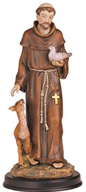 Dapdap - Saint Francis de Assisi, patron saint of Barangay Dapdap.