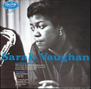 Sarah Vaughan with Clifford Brown - Image: Sarah Vaughan