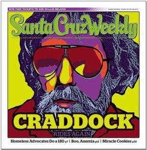 Santa Cruz Weekly - Image: Scwcover vol 1 no 4