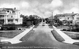 Capitol Hill (Seattle) - Capitol Hill c. 1917