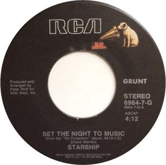 Set the Night to Music - Image: Set the Night to Music Starship