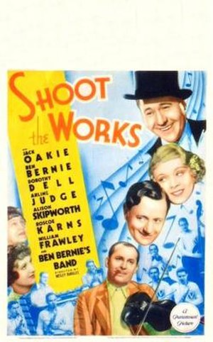 Shoot the Works (film) - Theatrical release poster