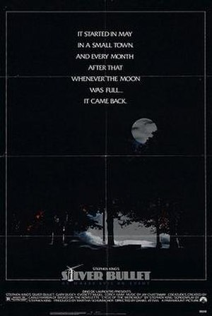 Silver Bullet (film) - Theatrical release poster