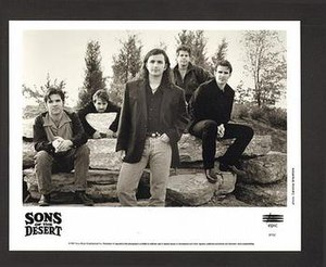 Sons of the Desert (band) - Sons of the Desert promotional image
