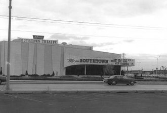 Southtown Center - The center's former movie theater