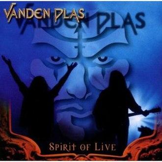 Spirit of Live - Image: Spirit of Live cover