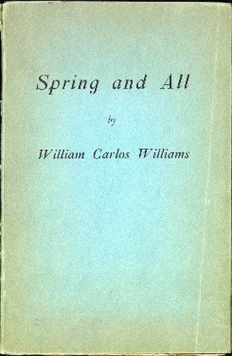 Spring and All - First edition