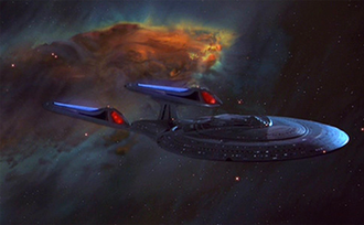 Star Trek: First Contact - Image: St 08 uss enterprise e