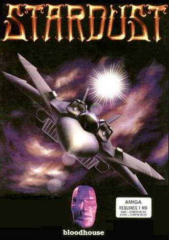 Stardust (1993 video game) - Image: Stardust cover