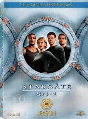 Stargate SG-1 (season 10) - DVD cover