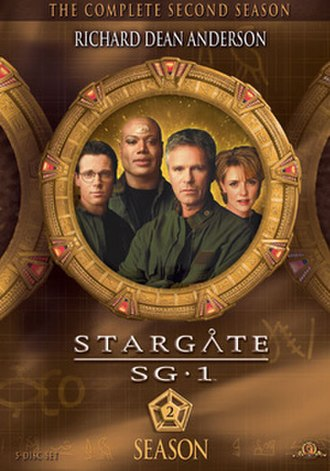 Stargate SG-1 (season 2) - DVD cover