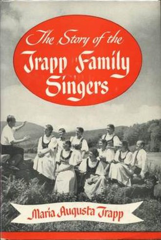 The Story of the Trapp Family Singers - Cover art for the first and some subsequent editions