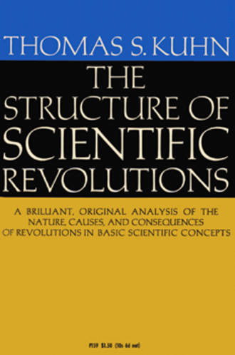 The Structure of Scientific Revolutions - Cover of the first edition