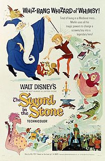 <i>The Sword in the Stone</i> (1963 film) 1963 American animated fantasy comedy film produced by Walt Disney