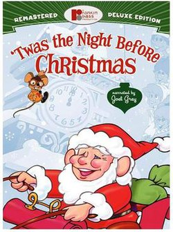 twas the night before christmas - The Night They Saved Christmas Dvd