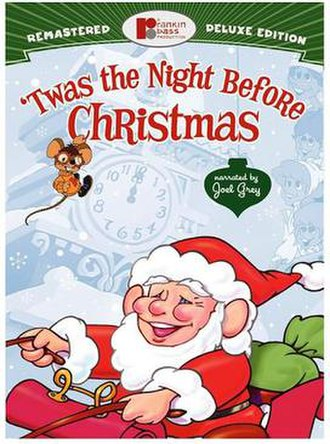'Twas the Night Before Christmas (1974 TV special) - Image: TTNBCDVD