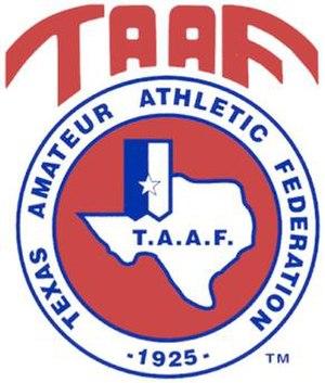 Texas Amateur Athletic Federation - Image: Taaflogo