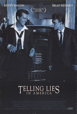 Telling Lies in America - Theatrical release poster