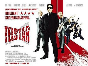 Telstar: The Joe Meek Story - UK cinema poster