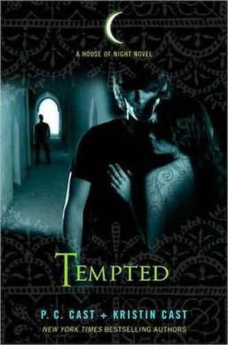 Tempted (Cast novel) - The first edition cover of Tempted