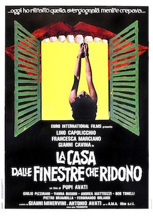 The House with Laughing Windows - Italian theatrical release poster