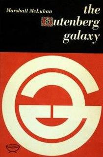 <i>The Gutenberg Galaxy</i> 1962 book by Marshall McLuhan