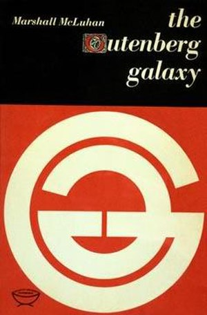The Gutenberg Galaxy - Cover of the first edition