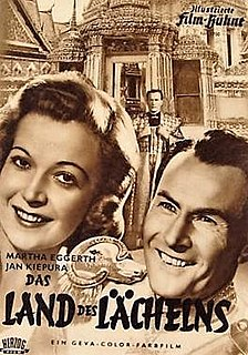 <i>The Land of Smiles</i> (1952 film) 1952 West German film by Erik Ode, Hans Deppe