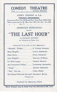 <i>The Last Hour</i> (play)