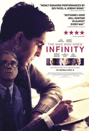 The Man Who Knew Infinity (film) - Theatrical release poster